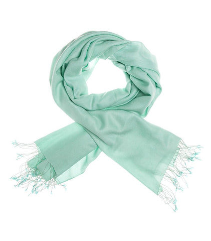 Mon Pashmina Shawl- Mint Green