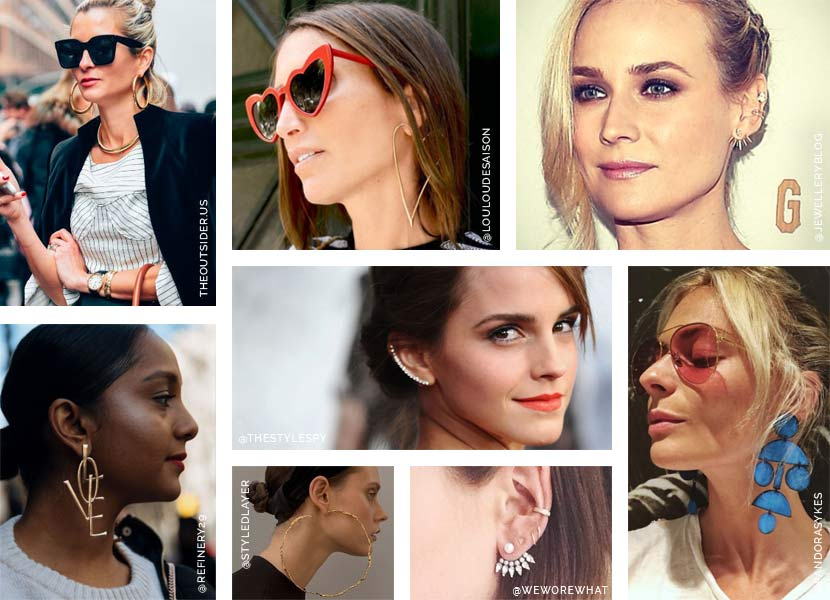 Statement earrings inspiration