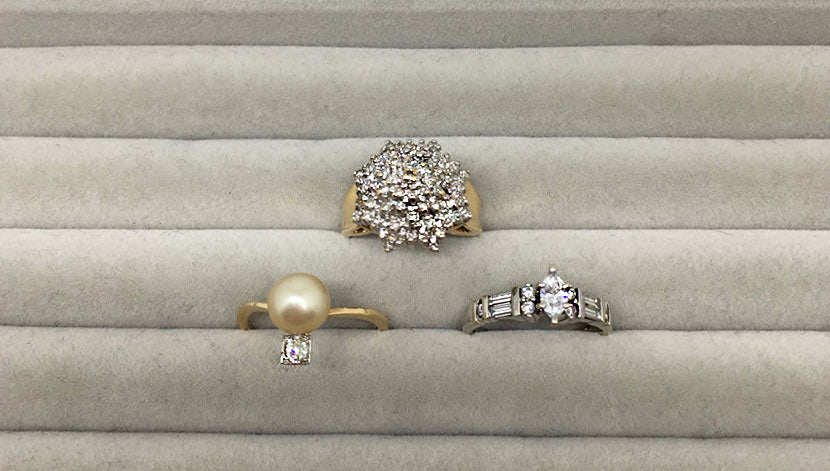 3 Vintage Engagement Rings coming soon to site