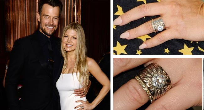 Fergie engagement ring