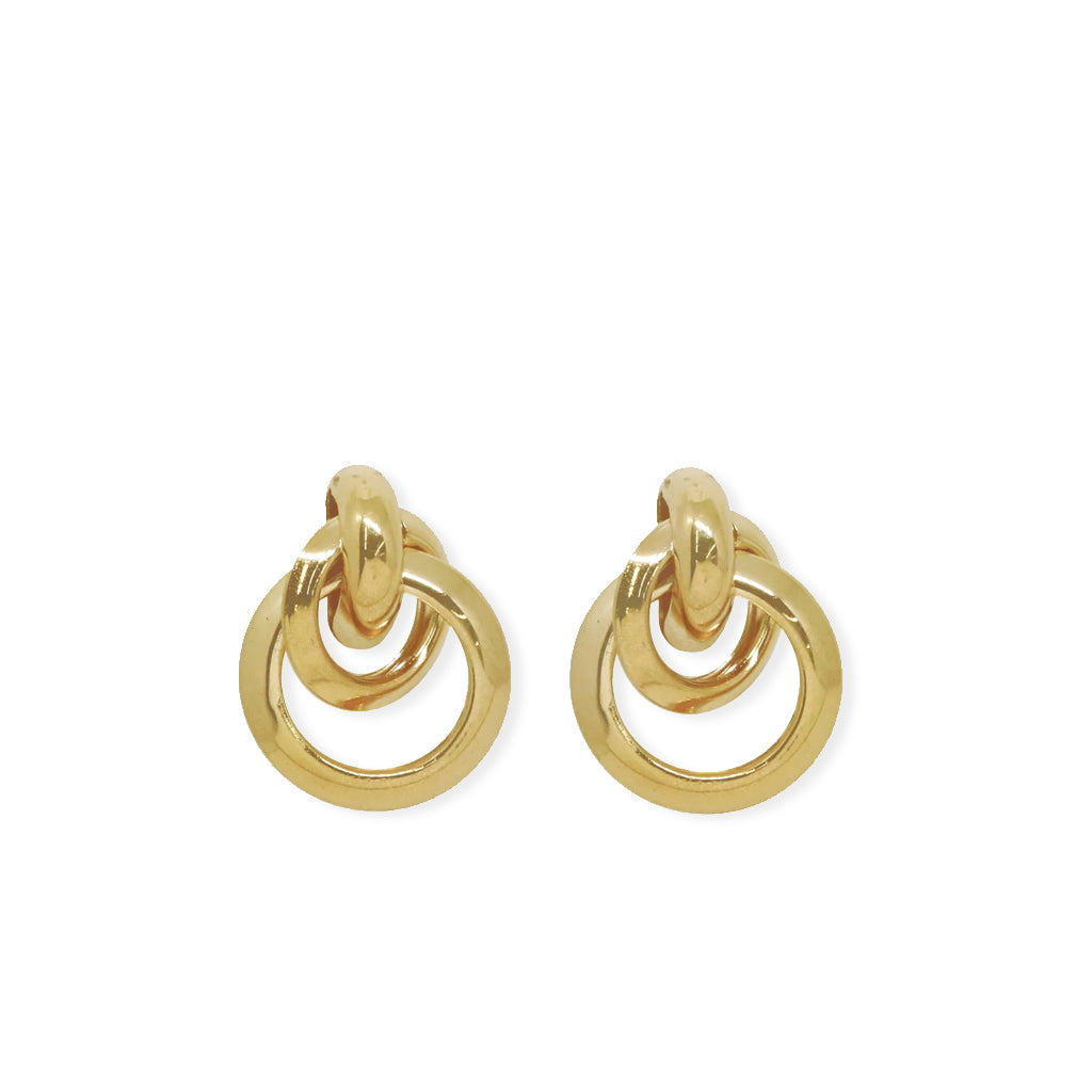 Classic Vibes Multi Ring Stud Earring