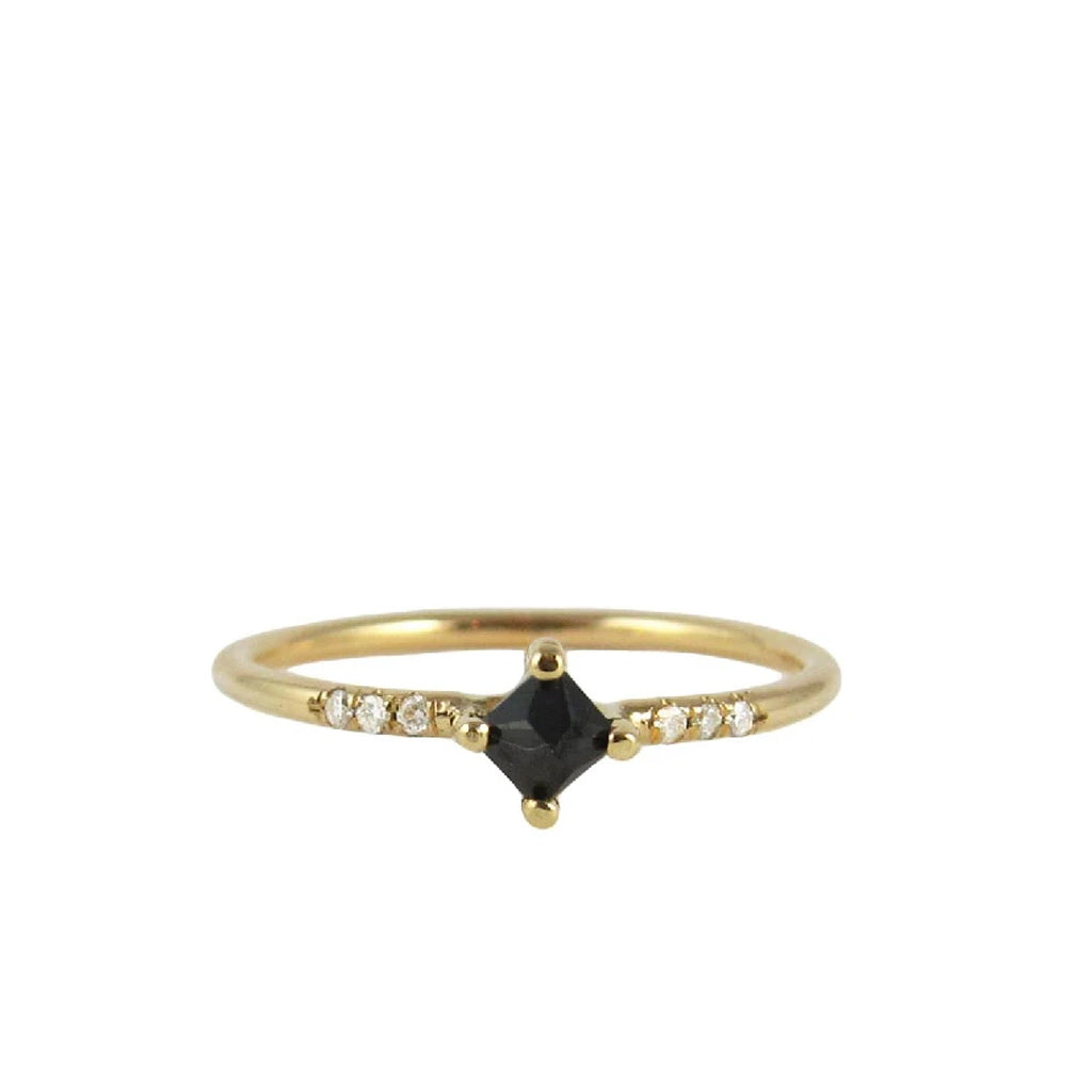 Black Diamond Equilibrium Point Ring