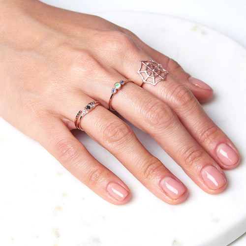 Mini Deco Point Ring