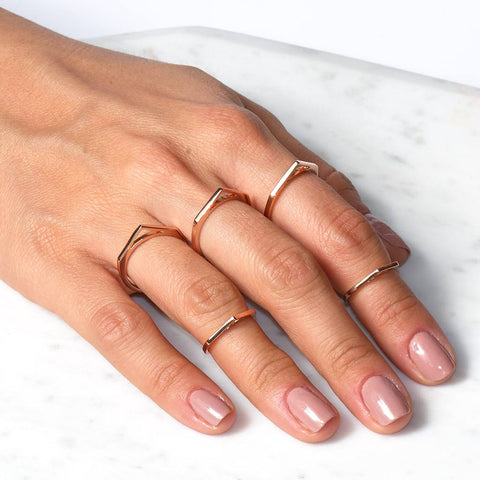 Open V Ring Set
