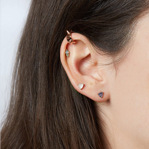Spike Ear Cuff in Rose Gold
