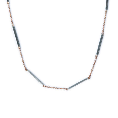 Metallic Sky Atlas Necklace
