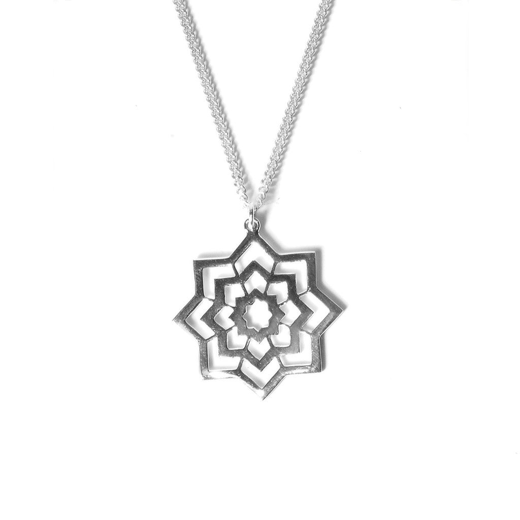 Agadir Necklace in Silver