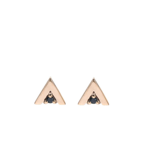 Triangle Stud in Gold