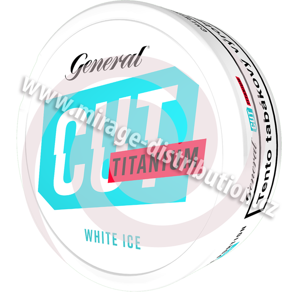 General CUT White Ice TITANIUM CB 21,6 g (GCWS)