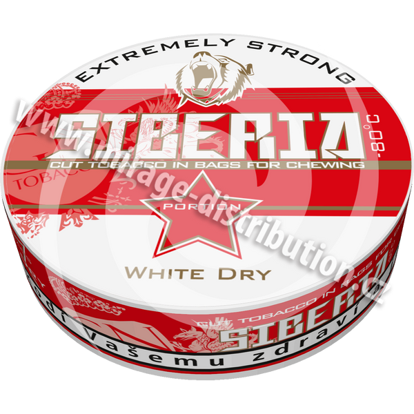 Siberia - 80 °C White Dry Portion 13g (SI)