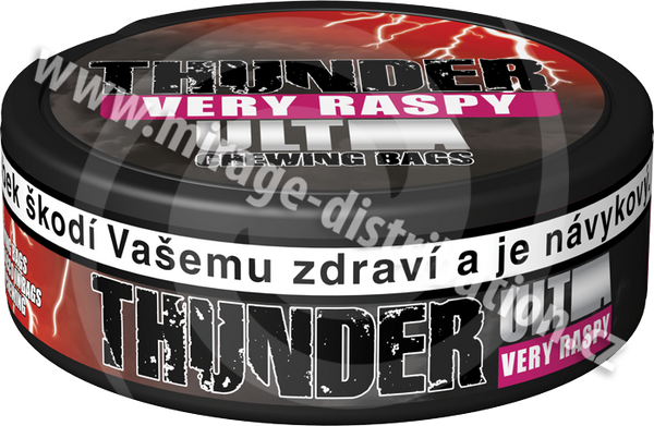 Thunder ULTRA Chewing Bags Very Raspy! 17,6 g (CBUR)