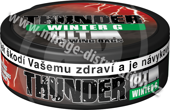 Thunder ULTRA Chewing Bags WINTER G! 17,6 g (CBUW)