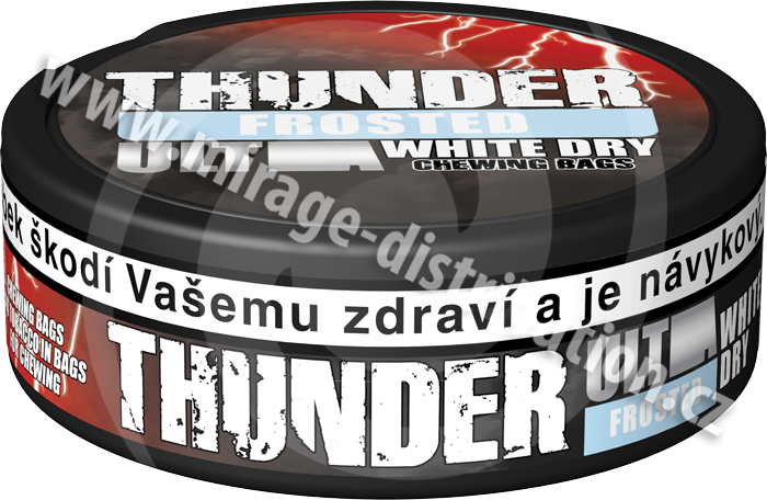 Thunder ULTRA Chewing Bags FROSTED White Dry 13,2 g(CBUF/WD)