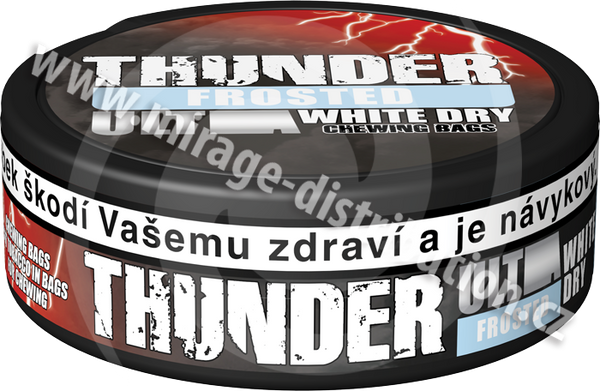 Thunder ULTRA Chewing Bags FROSTED White Dry 13,2 g (CBUF/WD)