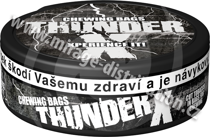 Thunder X Chewing Bags FROSTED 13 g (CBFX)