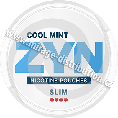 ZYN Colol Mint Slim 16,8g (ZCM)