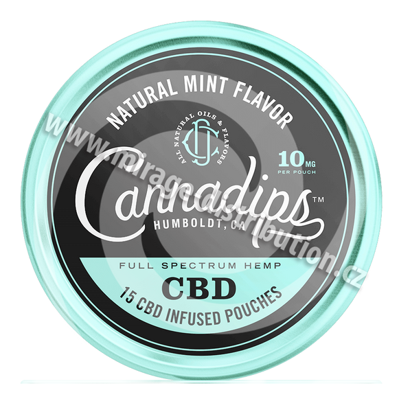 Cannadips Natural Mint 150mg CBD (CNM)