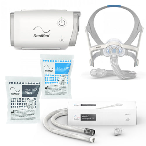 ResMed AirMini™ Auto CPAP with N20 Nasal Mask & Setup Pack Bundle