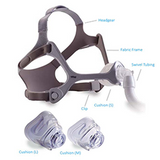 Wisp Nasal Mask with Fabric Frame Fit Pack (Philips)