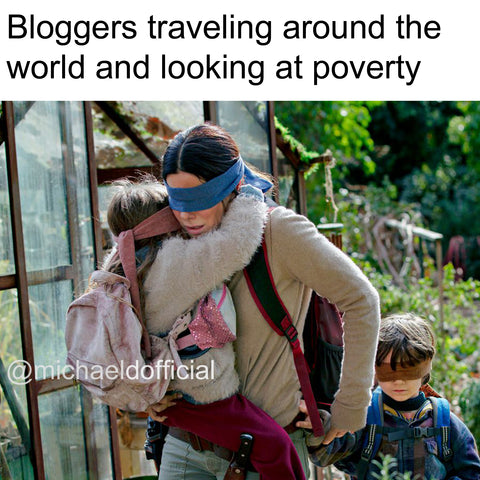 Blogers traveling world Birdbox @michaeldofficial