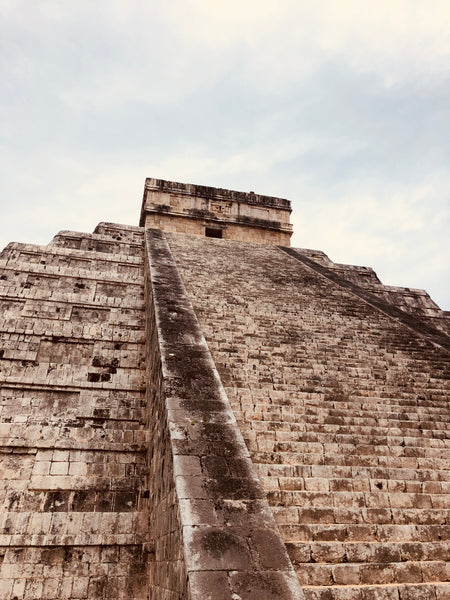 Mayan Pyramid Chichen Itza Mexico by Rudy Bois