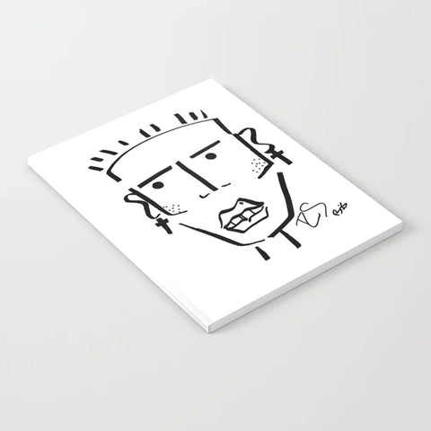 Rudy Bois - Notebooks Art prints for your office - Society6