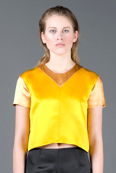 RUDYBOIS Spring Summer 2013 collection YELLOW TOP