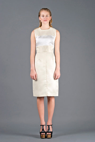 RUDYBOIS Spring Summer 2013 collection WHITE & OFF WHITE SHORT DRESS