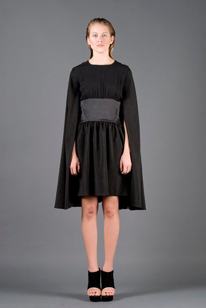 RUDYBOIS Spring Summer 2013 collection BLACK MANTLE DRESS
