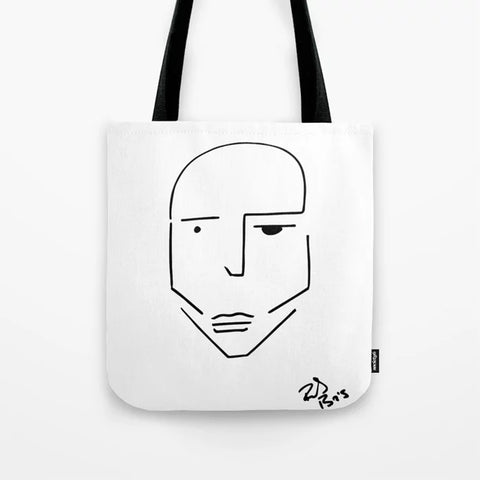 Rudy Bois Tote bags art prints - Society6