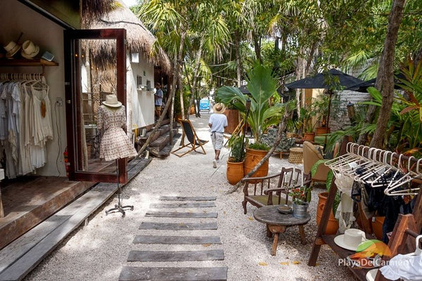 Boutique Plage Tulum Mexique
