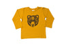 Organic Bamboo/Cotton Ochre Spirit Bear T-Shirt - Long Sleeve