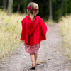 Red Riding Hood Swing Cape