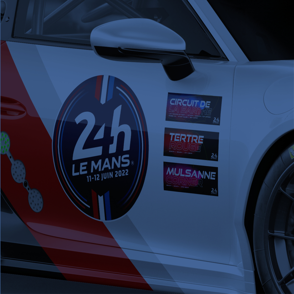 Le Mans Stickers