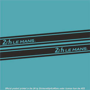 Official Le Mans 24h Le Mans Side-Stripes Stickers (Set) - Officially Licensed Le Mans Product - StickeredUp4LeMans