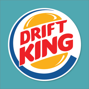 Drift King - Silly Stuff - StickeredUp4LeMans