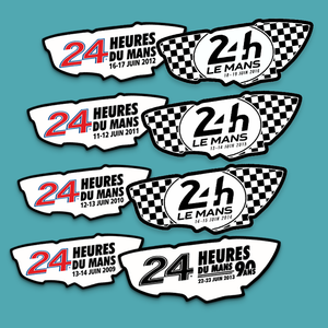 Le Mans Commemorative Year Window Sticker - Official Le Mans Stickers - StickeredUp4LeMans
