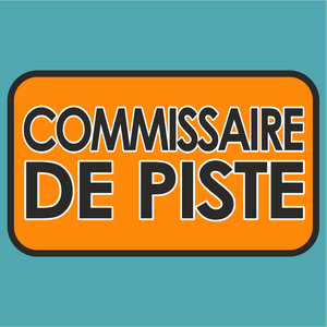 Commissaire de Piste Le Mans Marshal Sticker - Marshal - StickeredUp4LeMans