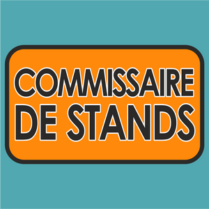 Commissaire de Stands Le Mans Marshal Sticker - Marshal - StickeredUp4LeMans