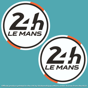 Marshal's Official 24h Le Mans Racing Door Roundels 395mm diameter (Pair of Stickers)