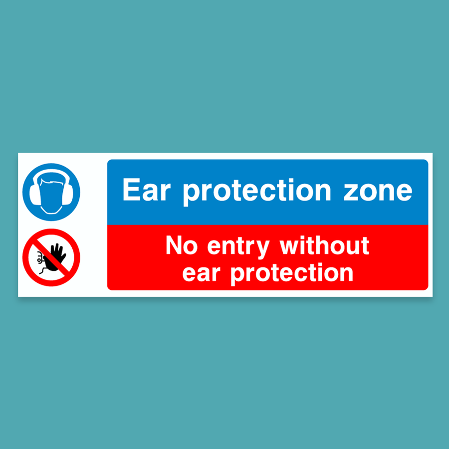 Ear protection zone - Silly Stuff - StickeredUp4LeMans