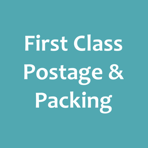 First Class Postage & Packing (Packet Post)