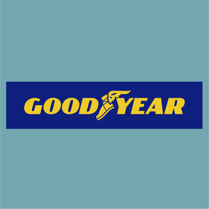 Goodyear Blue & Yellow - Sponsor Logo - StickeredUp4LeMans