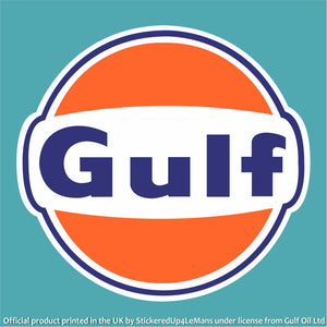 Gulf Logo Sticker - Gulf - StickeredUp4LeMans