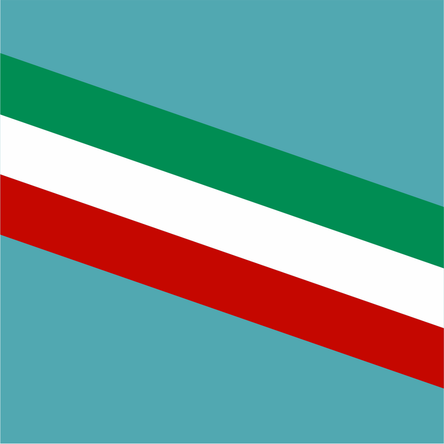 Italian Flag Style Stripe - Stripe - StickeredUp4LeMans