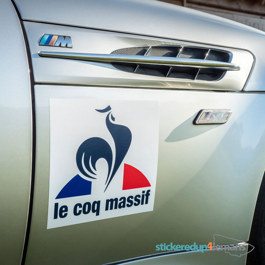 Le Coq Massif - Silly Stuff - StickeredUp4LeMans
