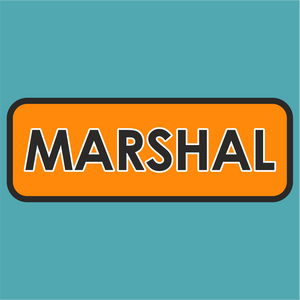 Le Mans Marshal Sticker
