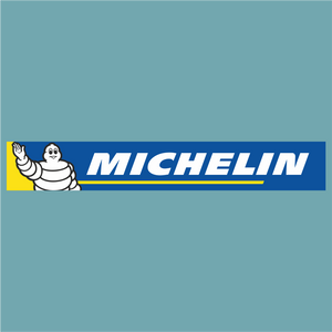 Michelin (Colour version) - Sponsor Logo - StickeredUp4LeMans