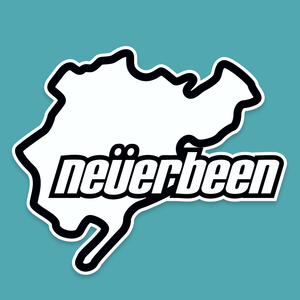 Neverbeen - Silly Stuff - StickeredUp4LeMans