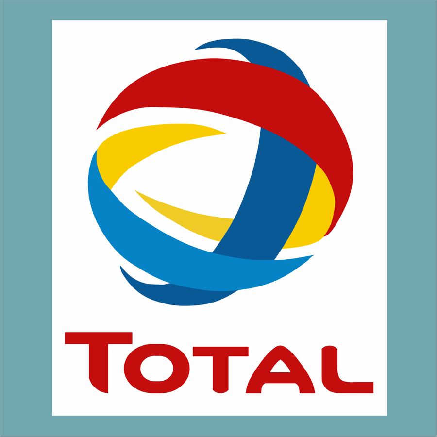 Total - Sponsor Logo - StickeredUp4LeMans